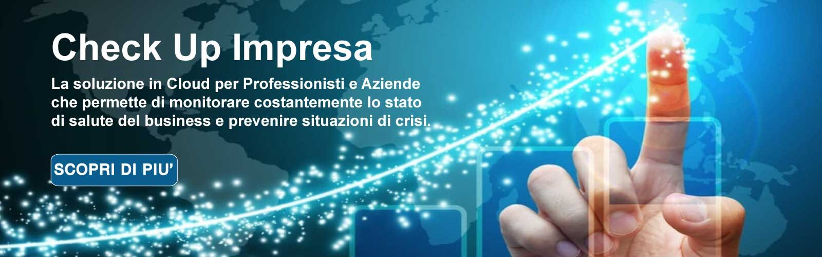 CHECK UP IMPRESA: Il software per prevenire la Crisi di Impresa