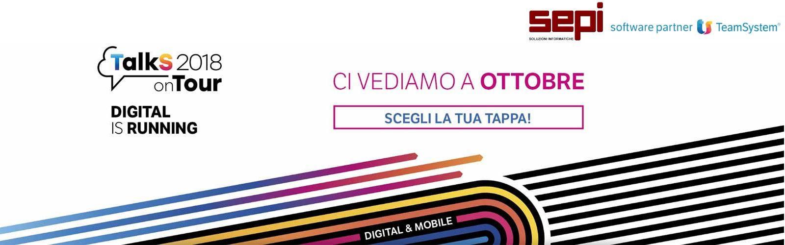 Scegli il tuo evento digitale 2018